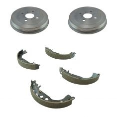 04-06 Scion xA; xB Rear Brake Drum & Shoe Kit