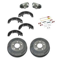 01-05 Mercury Sable; 01-07 Ford Taurus Rear Brake Drum, Shoe, Wheel Cylinder & Hardware Kit
