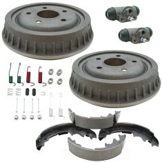 Ford Mazda Multifit Rear Brake Drum, Shoe, Wheel Cylinder & Hardware Kit