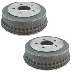 83-05 GM Chevy Rear Full Cast Brake Drum Pair