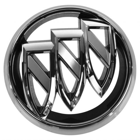 2012 17 buick verano emblem general motors oem 20913792 gmbee00087 1942 Buick Coupe 12 15 buick verano grille mounted chrome tri shield badge emblem gm