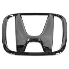 03 Honda Civic 2DR; 01-06 Civic 4DR Grille Mounted Chrome ~H~ Logoed Adhesive Nameplate (Honda)