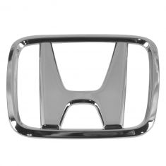 98-00 Honda Accord 2DR Coupe Grille Mounted Chrome ~H~ Logoed Clip on Style Nameplate Emblem (Honda)