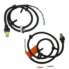 2000-06 Chevy Impala, Monte Carlo ABS Sensor Wire Harness with Plug & Pigtail Front PAIR