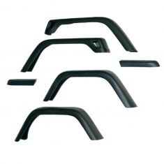 7-Inch Fender Flare Kit, 97-06 Jeep Wrangler