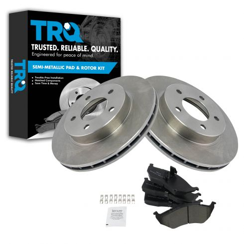 1993-97 Concorde LHS New Yorker Vision Intrepid Brake Pad & Rotor Kit Front