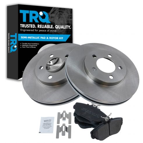 1994-00 Taurus Sable Brake Pad & Rotor Kit Front