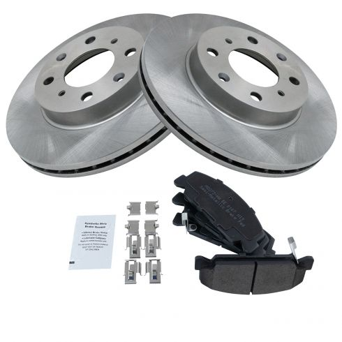 Front Disc Brake Pads /& Rotors Kit for Honda Civic CRX Del Sol New