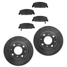 1990-00 Honda Civic CRX Del Sol Brake Pad & Rotor Kit Front