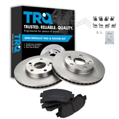 OE Replacement Rotors Ceramic Pads F+R 2012 2013 2014 Toyota Camry