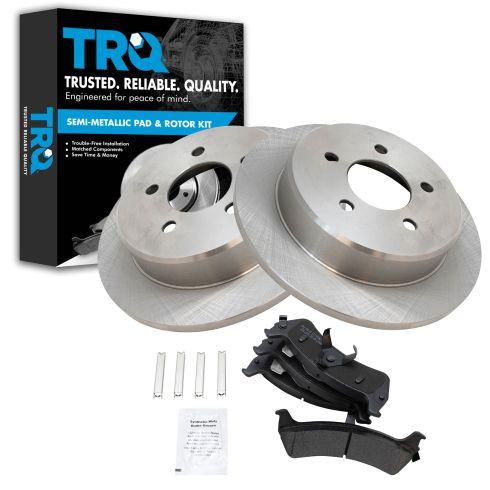 Fits:- 5lug Front Kit 2 OEM Replacement Disc Brake Rotors 4 Ceramic Pads High-End