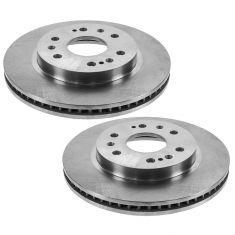 05-09 GM Full Size Truck SUV w/Rear Drum Brakes Front Brake Rotor PAIR