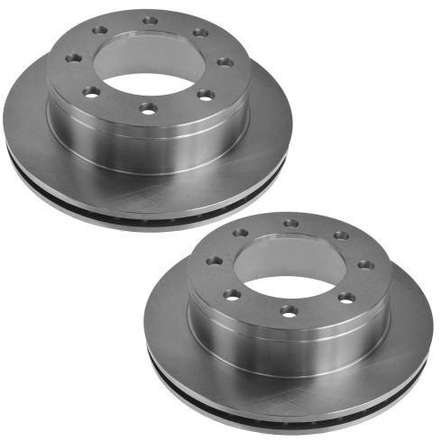 Front Brake Rotor Diver /& Passenger Side Pair for Chevy GMC 2500HD 3500HD New