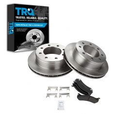 REAR Semi-Metallic Disc Brake Pad & Rotor Kit (AX55055 & AXMD785)