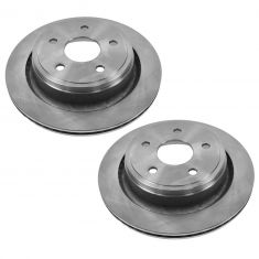 Rear Disc Brake Rotor (AUTO EXTRA AX53006) PAIR