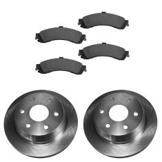 99-07 GM Full Size Truck Professional Grade Ceramic Brake Pads & Rotor Set Rear