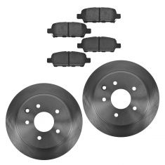 Rear Disc Brake Rotor & pad Set  AX31312, AXCD905