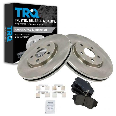 Front Disc Brake Rotor & Pad Set AX53009, AXCD841