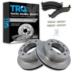 Front Disc Brake Rotor & Pad Set AUTO EXTRA AX5393,  AXCD859