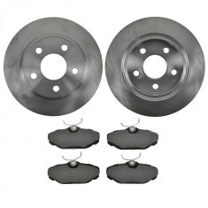 Brake Pad & Rotor Kit PREMIUM SEMI-METALLIC
