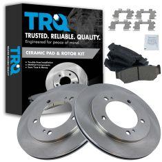 Front Disc Brake Rotor & Pad Set  AX55060, AXCD556