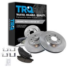 Front Disc Brake Rotor & Pad Set  AX55126, AXCD1159