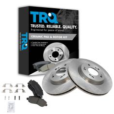 Front Ceramic Disc Brake Pads & Rotor Set  AXCD866, AX31346