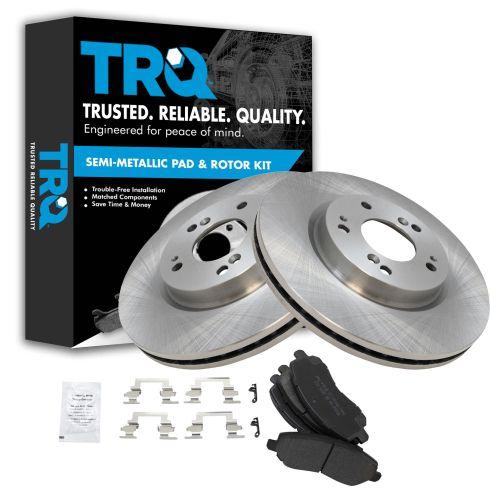 Front Metallic Disc Brake Pads & Rotor Set  AXMD866, AX31346