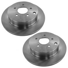 03-11 Infiniti; 03-10 Nissan Multifit Rear Brake Rotor Pair