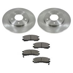 Rear Ceramic Disc Brake Pads & Rotor Set  AXCD714, AX55018