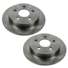 Rear Disc Brake Rotor (AUTO EXTRA AX55039) Pair