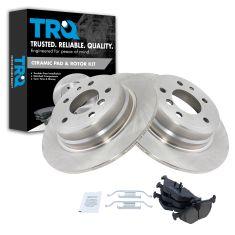 Ceramic Disc Brake Pads  & Rotor Set AXCD396,  AX34065