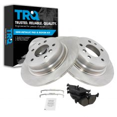 Metallic Disc Brake Pads  & Rotor Set AXmD396,  AX34065