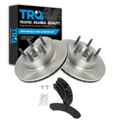 Front Semi Metallic Disc Brake Pads& Rotor Set AXMD249, AX5473