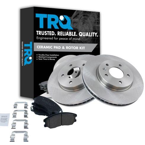 07-09 Equinox, Torrent; 08-09 Vue; 07-09 XL-7 Front Disc Brake Rotors & Ceramic Pad Set