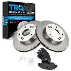 06-11 Honda Civic Hybrid Front Metallic Pads & Rotors Set