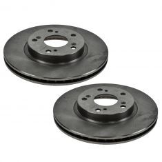 02-04 Honda CR-V Front Disc Brake Rotor Pair
