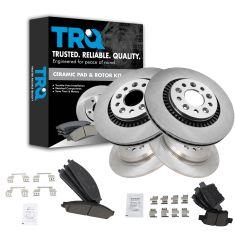 05-07 Freestyle, Five Hundred, Montego; 08-09 Taurus, Sable Taurus X Fr & Rr Ceramic Brake Kit