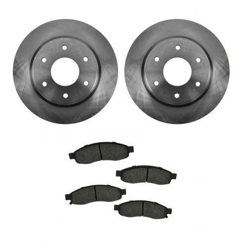 Brake Pad & Rotor Kit SEMI-METALLIC