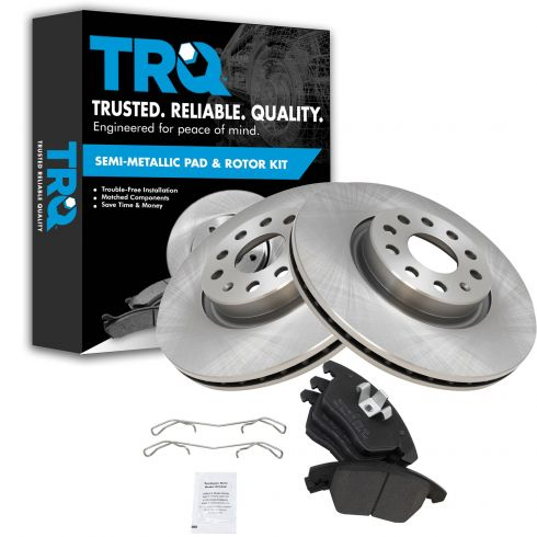 Fits:- Jetta Rabbit High-End 8 Ceramic Pads Front+Rear Kit 4 Cross-Drilled Disc Brake Rotors 5lug