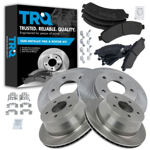 2 Front Brake Discs Rotors For 1997-2001 Olds Bravada 1998-2005 Chevy Blazer