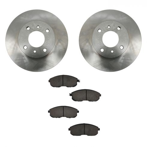 For Pair Set of Front /& Rear Disc Brake Pads for Nissan Altima Sentra Brembo