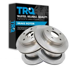 07-09 Aspen; 04-09 Durango; 02-12 Ram 1500 Front & Rear Brake Rotor Kit (Set of 4)