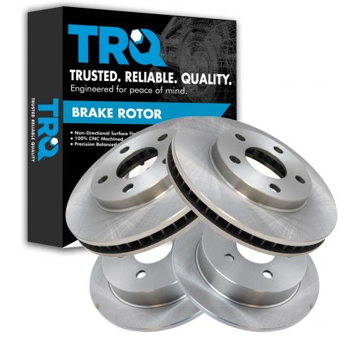 97-05 Buick, Chevy, Olds, Pontiac Multifit Front & Rear Brake Rotor Kit (Set of 4)