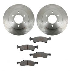 03-06 Expedition, Navigator Front METALLIC Brake Pad & Rotor Kit
