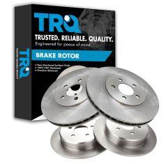 95-00 Cirrus; 01-06 Sebring (exc Cpe); 95-06 Stratus; 96-00 Breeze Front/Rear Brake Rotor (Set of 4)