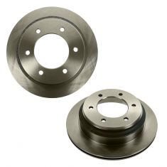 98-00 Amigo; 02-04 Axiom; 93-04 Rodeo; 94-02 Passport Rear Disc Brake Rotor PAIR