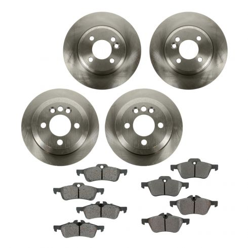 Rear Metallic Brake Pads MINI COOPER S