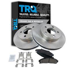 Ford, Mazda, Mercury  Front Brake Rotor & Premium Posi Ceramic Pad Kit