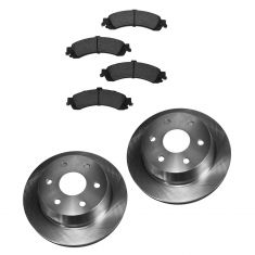 99-07 GM Full Size Truck Professional Grade Semi-Metallic Brake Pads & Rotor Set Rear